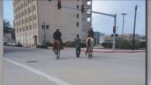 ตำรวจขี่ม้า